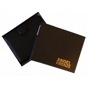 Portofel Angel Firenze Negru- piele naturala-3045