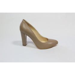 Pantofi din piele naturala Bej CA4