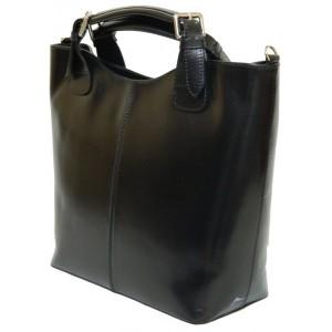 Geanta model Zara neagra piele naturala