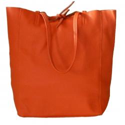 Geanta Celine portocaliu-piele naturala