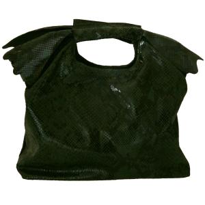Geanta Croco verde