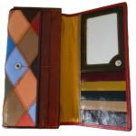 Portofel multicolor Firenze piele naturala 8279