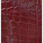 Geanta Victory croco bordo piele naturala