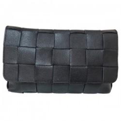 Geanta Miraj XL Neagra piele naturala