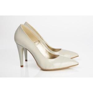 Pantofi B Stiletto Bej -292
