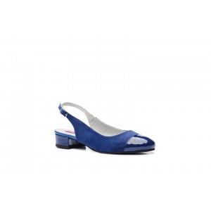 Sandale din piele naturala albastru CA12