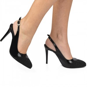 Sandale negre CA11