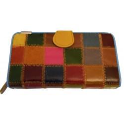Portofel Gya 8000 Multicolor piele naturala