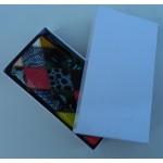 Portofel din piele multicolor A345