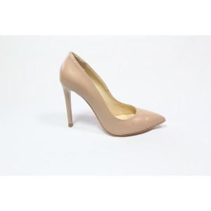 Pantofi din piele naturala- Bej CA3