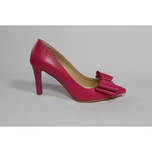 Pantofi Ciclam din piele naturala CA23